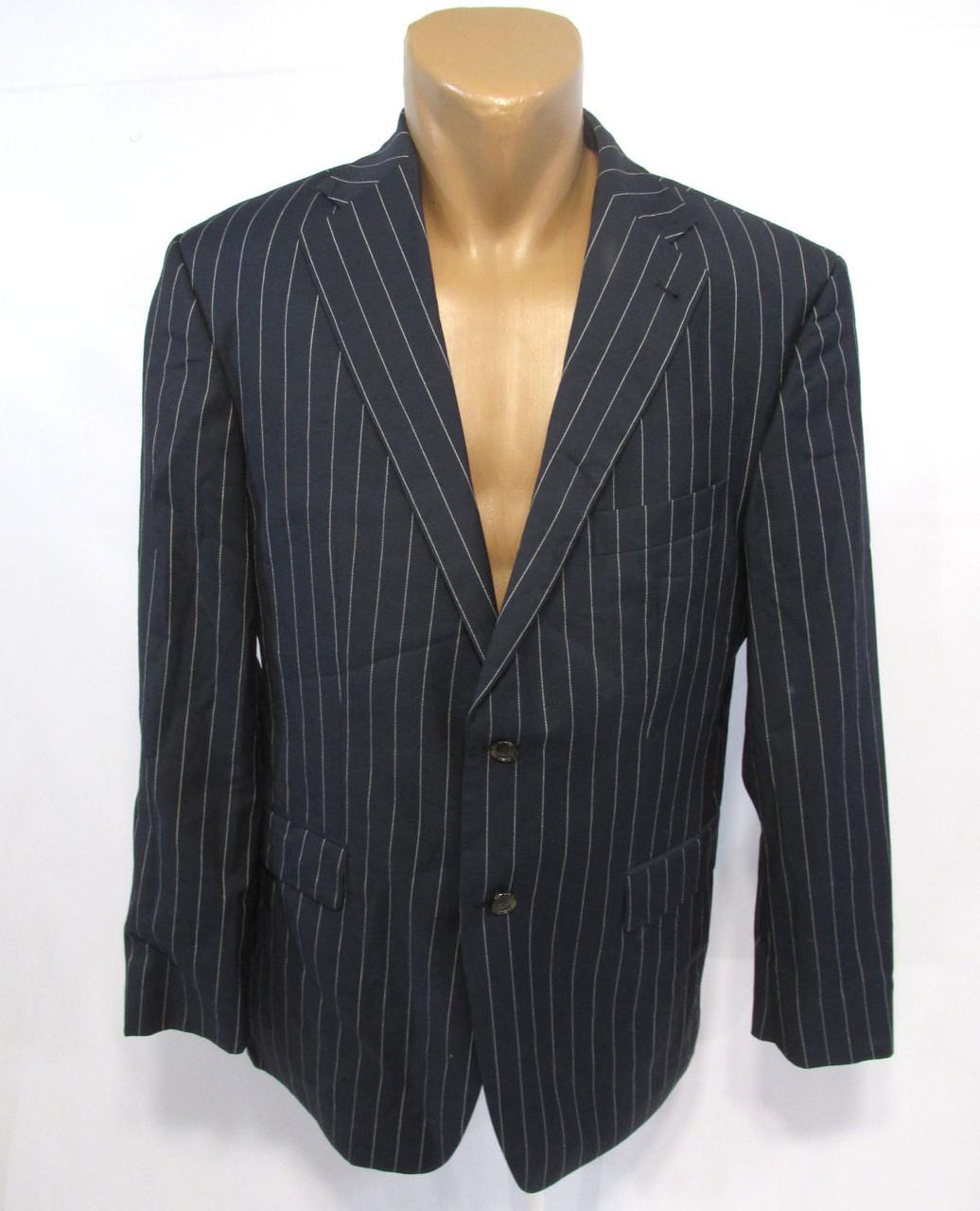 Пиджак Tommy Hilfiger, 50 (L), Шерсть, т.синий, Как Новый!