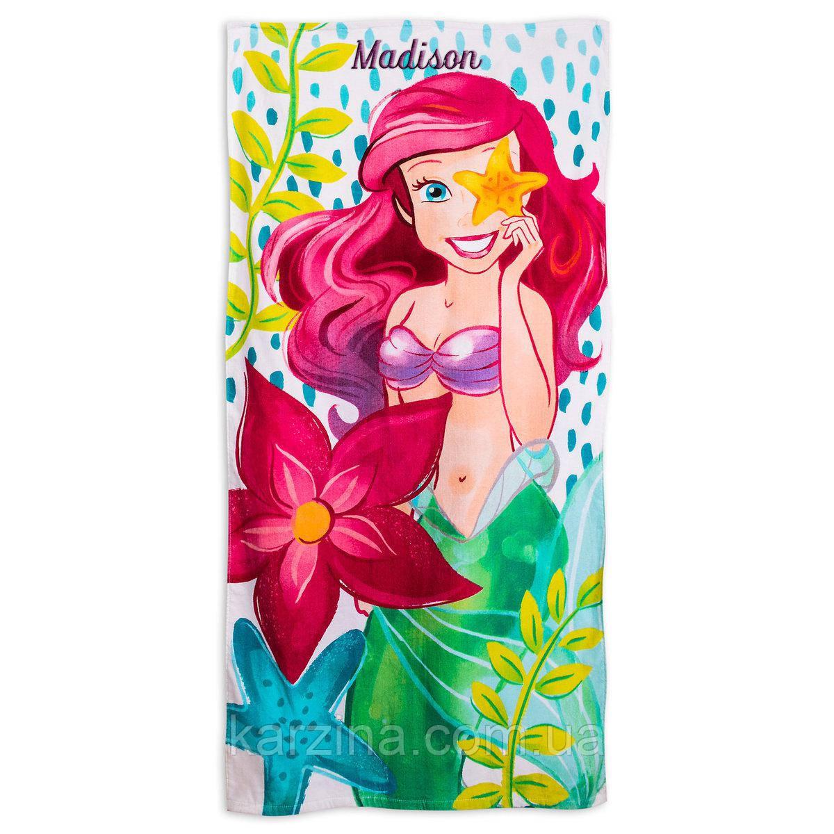 Полотенце Disney Ariel Beach Towel for Kids