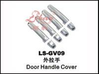 Накладки на дверные ручки наружные Suzuki Grand Vitara 2007  LS-GV09