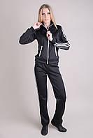 Спортивный костюм SL-9044 №1 (черный), фото 1