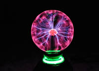 Плазменный шар Plasma ball ХХХL 20см 10 дюймов Катушка Тесла