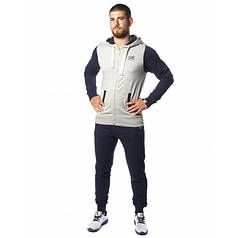 Спортивный костюм Leone Fleece Grey/Blue XL