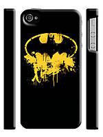 Чехол для iPhone 4/4s / 5/5s знак Бэтмена