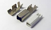 Разъем USB 2.0 для мфу принтера сканера 4pin 3 части без кабеля