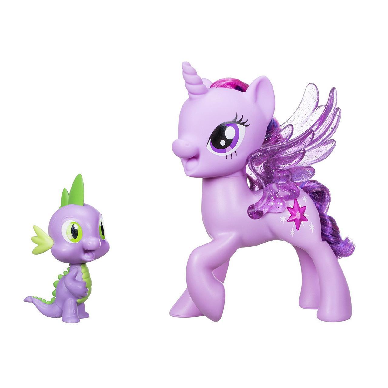 Дуэт поющие вместе пони Твайлайт и Спайк, My Little Pony Twilight Spike Duet, Hasbro Оригинал из США
