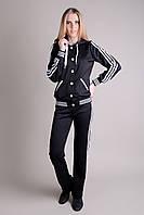 Спортивный костюм SL-9046 №3 (черный), фото 1