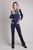 Спортивный костюм с капюшоном SL-9046 №3  (темно-синий), фото 1
