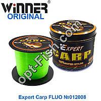 Леска Winner Original Expert Carp FLUO №012008 1000м 0,35мм *