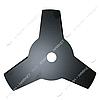 Нож для бензокосы 3 Т (255*25, 4 мм) наружн. и внутрен. d