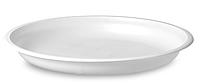Одноразовая тарелка пластиковая диаметром 205 мм