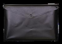 Папка на кнопке Папка-конверт  А5 непрозрачная  на кнопке Buromax BM.3939 ассорти
