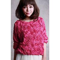 Женский свитер с розами, фото 1