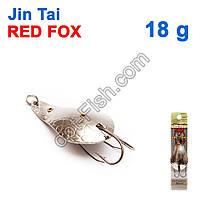 Блесна незацепляйка (двойник) Jin Tai Red Fox 6009-13S 18g 01