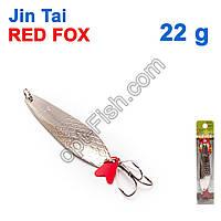 Блесна незацепляйка (тройник) Jin Tai Red Fox 6027-37 22g 01