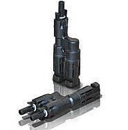 Кабельний розгалужувач МС4, пара, 6 мм