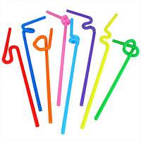 Трубочки с длинной гофрой  26см 100шт К Artistik Straw 0131600 (0131600 x 136228)