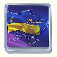 """Магнит  """"Україна"""", купить магниты оптом, купити магніт з символікою., фото 1"""