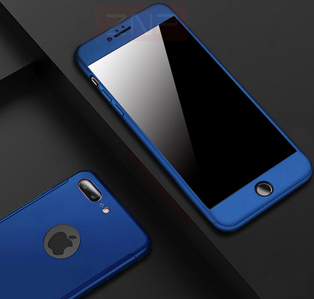 Защитный чехол для iPhone 7 синий, фото 2