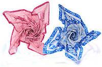 Шелковый платок с  биофотонами для лечения  щитовидной железы   «ХуаШен»