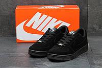 Мужские кроссовки Nike Air Force черные 2726