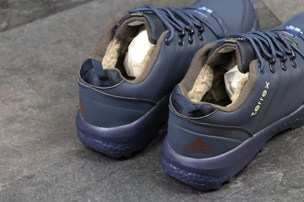 0c856d53 Мужские зимние кроссовки Adidas Terrex темно синие 3295, цена 884 грн.,  купить в Хмельницком — Prom.ua (ID#712751748)