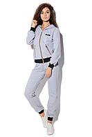 Спортивный костюм SL-9602 №10 (серый), фото 1