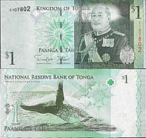 Тонга / Tonga 1 paanga 2014 Pick 37 UNC