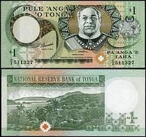 Тонга / Tonga 1 paanga 1995 Pick 31 UNC