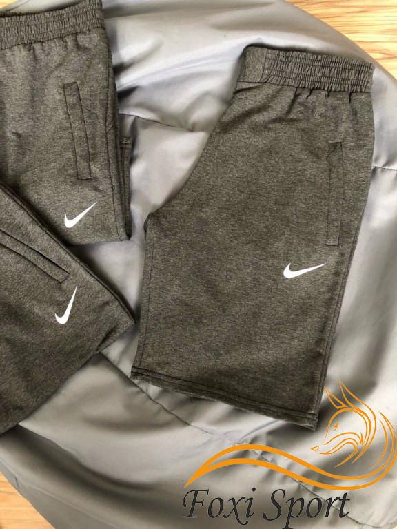 e48435af Купить Мужские спортивные шорты Nike (тёмно-серые) реплика в ...