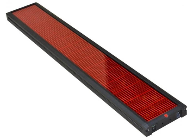 Бегущая строка светодиодная 68см*20см/красная внутренняя