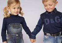 Джинсовая одежда для детей.новинки сезона