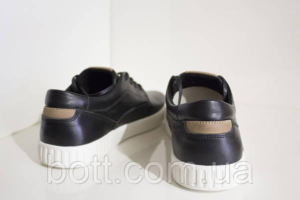 Кеды черные кожаные, фото 2