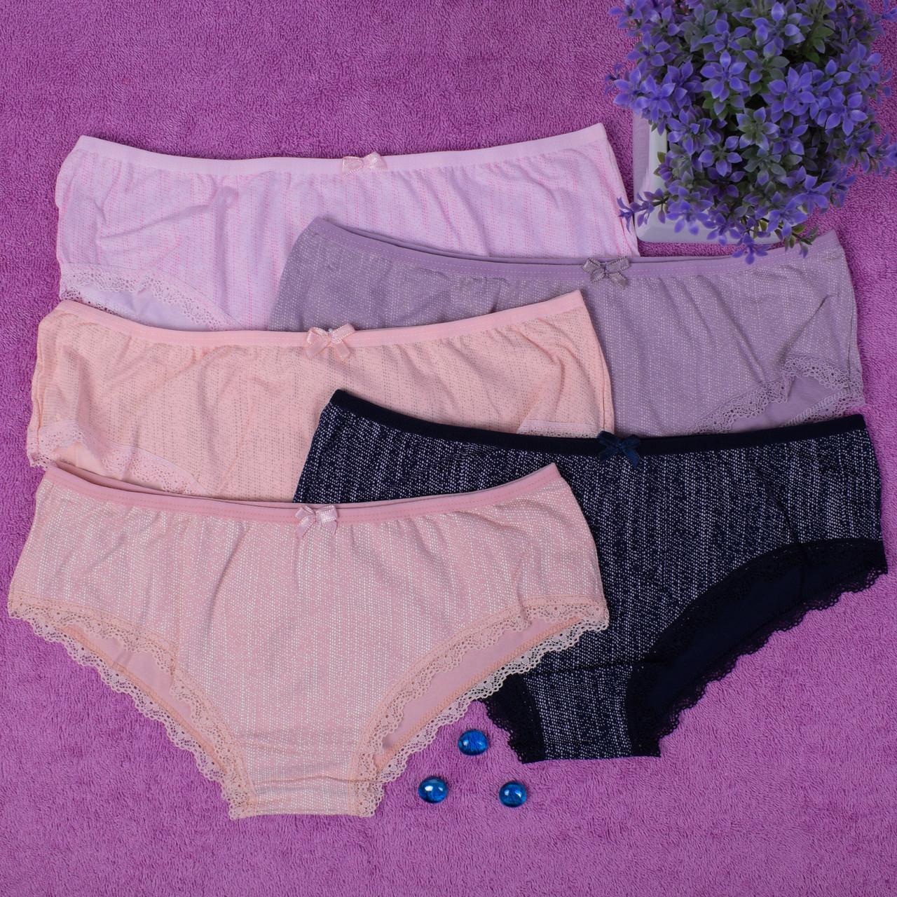 Женское нижнее белье. Donella 39395 M. Размер 44-46. В упаковке 5 шт.