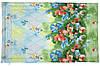 Одеяло облегченное полуторное (100% овечья шерсть, сатин,140х205 см) ТМ Руно 321.137ШК_Summer flowers