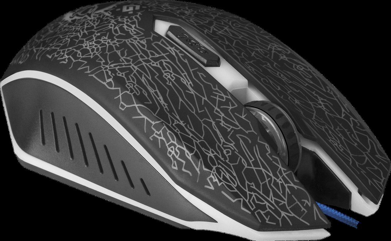 Ігрова миша Defender Shock GM-110L+ килимок