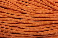 Шнур 6мм плотный (100м) оранжевый (неон)
