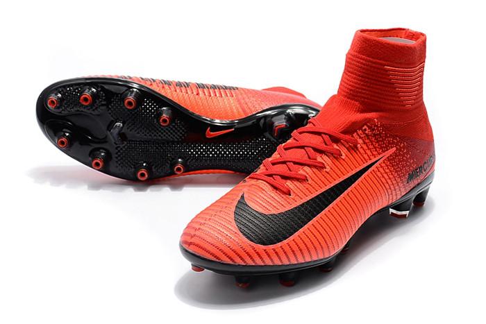 fa322022397b Детские футбольные бутсы Nike Mercurial Superfly V CR7 AG Bright  Crimson White University Red Hyper