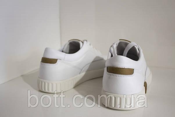 Кеды кожаные белые, фото 2