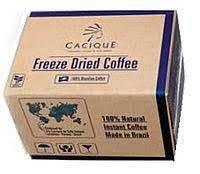 Кофе Бразильский CACIQUE