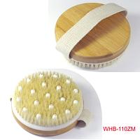 Деревянный массажер щетка WHB-110 ZM