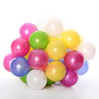 Набор шариков в сетке ОРИОН 467 (300x300x350 мм) 32 шт