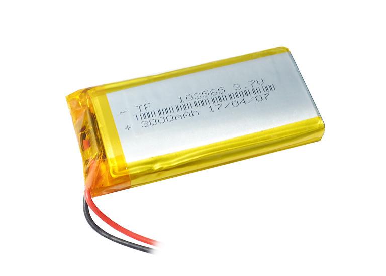 Аккумулятор литий-полимерный 3,7V 3000mAh