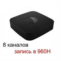 Видеорегистратор DVR, 8 каналов с разрешением 960H@200fps (DVR-2008PKB)