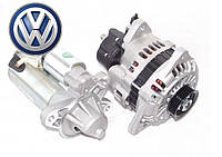 Volkswagen (Фольксваген)  - новый стартер, генератор и их запчасти, бендикс, втягивающее, реле зарядки
