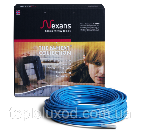 Нагрівальний кабель Nexans TXLP/2R 1250/17 (7,2 - 9,1 м2)