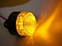 Светодиодная лампа ЛЛН-18-12 желтая, фото 1