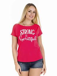 Женская футболка STRONG