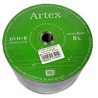 Диск Artex  8,5Gb -8x DL (bulk  50) (двухслойная)   DVD+R