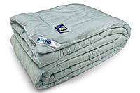 Одеяло теплое полуторное (100% овечья шерсть, сатин жаккард 140х205 см) ТМ Руно 321.ШКЖ+У