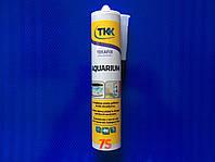 Герметик силиконовый для аквариумов TKK, черный, 300 мл